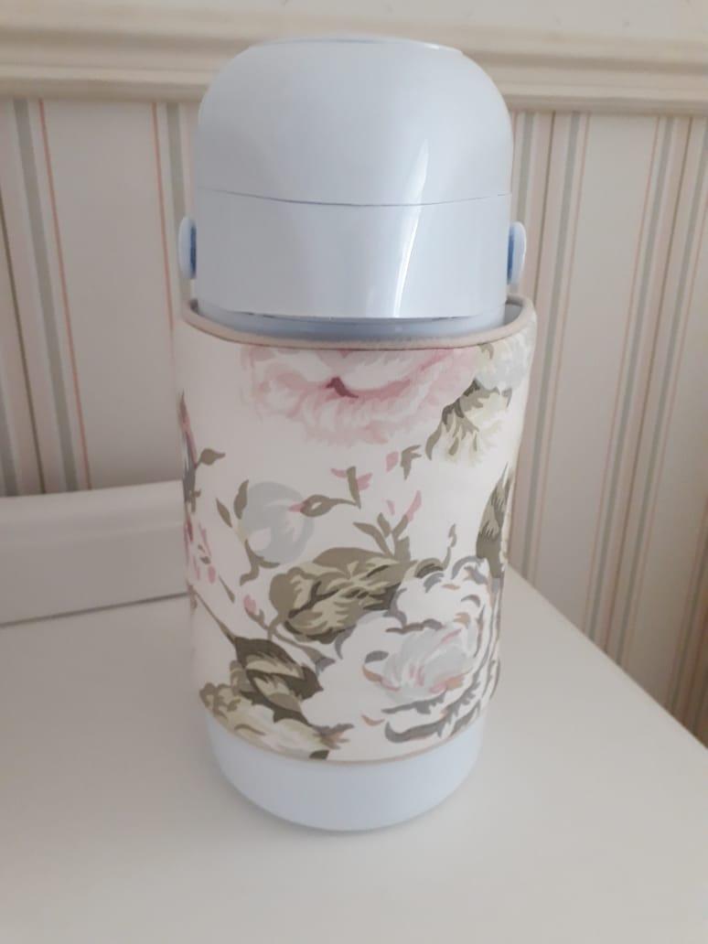 Capa de Garrafa - Floral entreposto