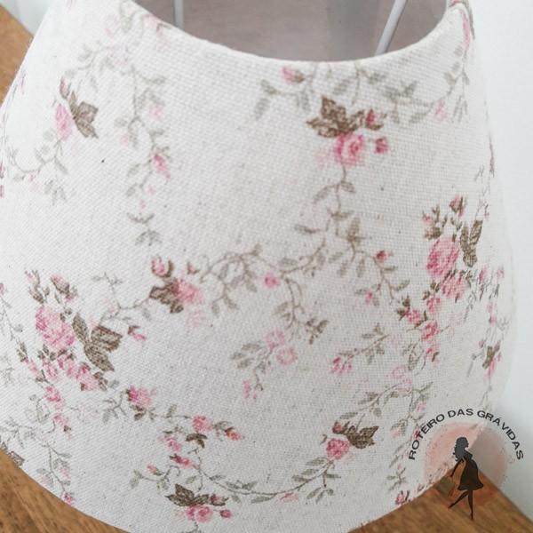 Cúpula para abajur - Floral