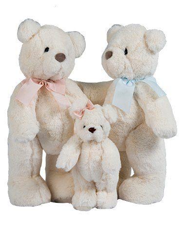 Família Ursinhos - Off White