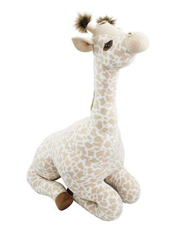 Girafa Decorativa Sentada