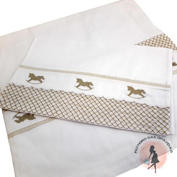 Jogo de lençol - 3 peças