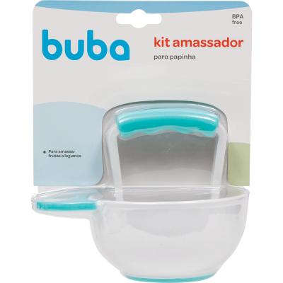Kit Amassador para Papinha - Azul