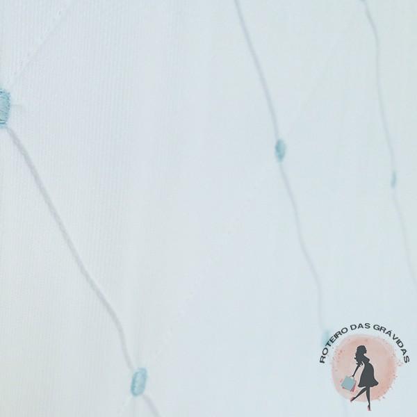 Kit berço Urso azul claro