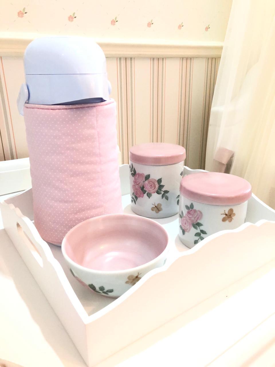 Kit higiene Puro Amor com capa simples - 6 peças