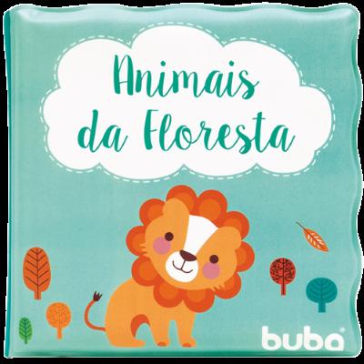 Livrinho de Banho Animais da Floresta