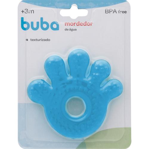 Mordedor de Água Mãozinha Baby - Azul