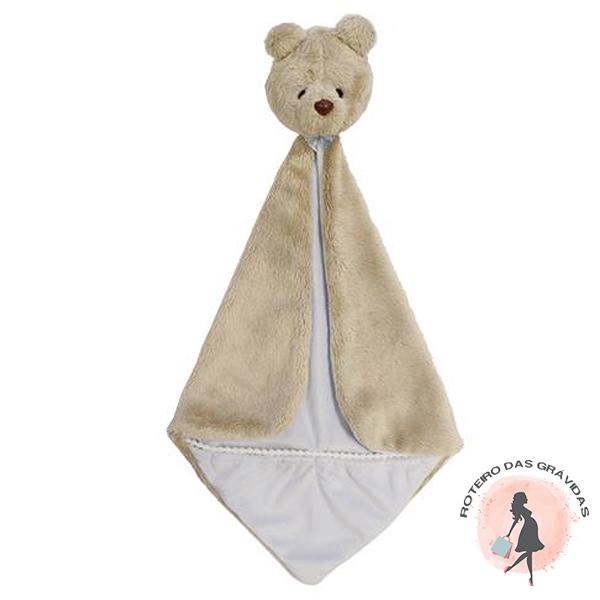Naninha com Bolso Urso - Azul