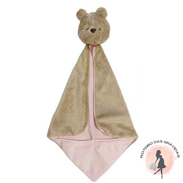 Naninha com bolso - rosa