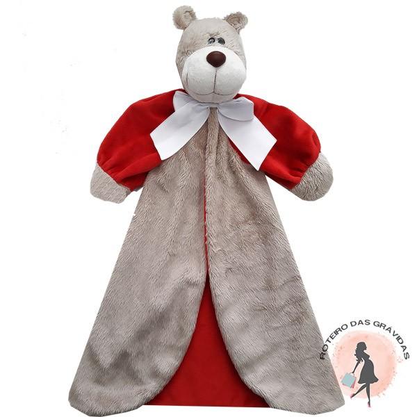 Naninha com Braço Urso - vermelho