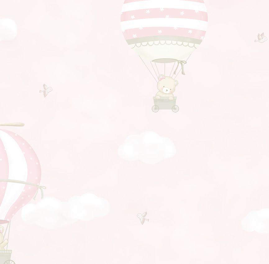 Papel de Parede - Balão Ursa