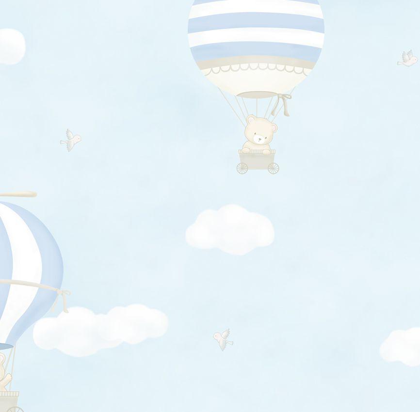 Papel de Parede - Balão Urso