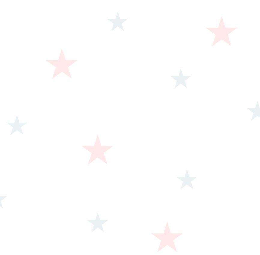 Papel de Parede - Estrela Rosa