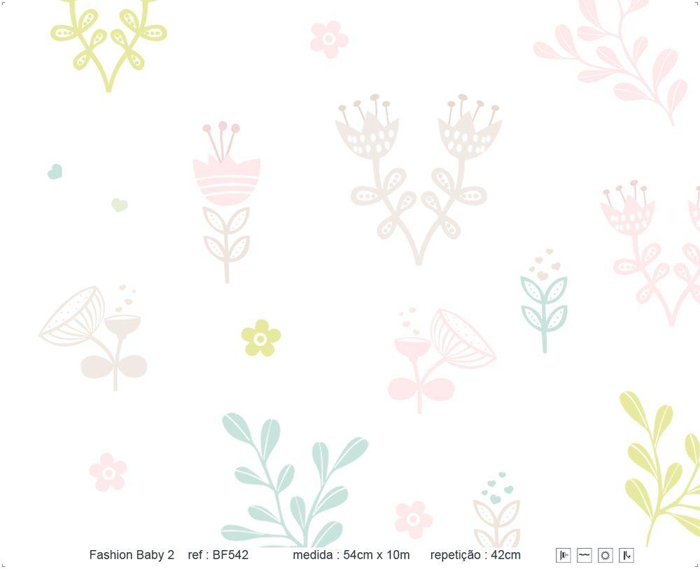 Papel de Parede - Flor Jardim
