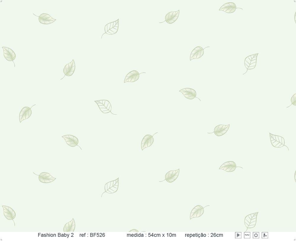 Papel de Parede - Folha Verde