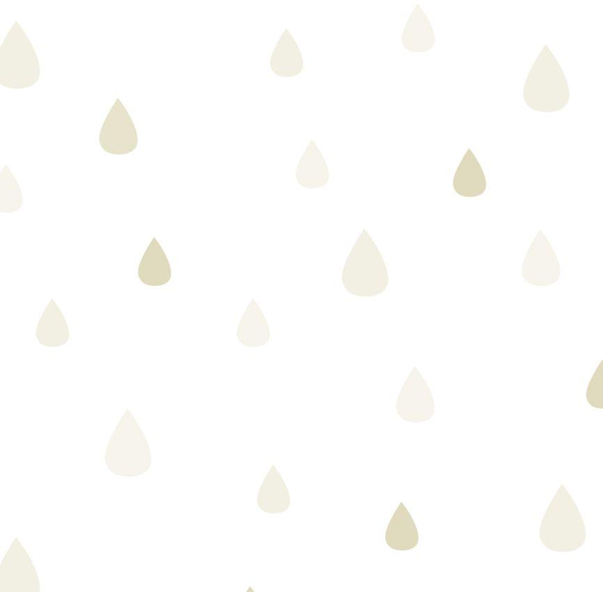 Papel de Parede - Gota Bege