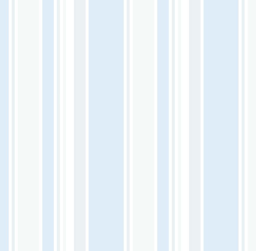 Papel de Parede - Listra Azul e Cinza
