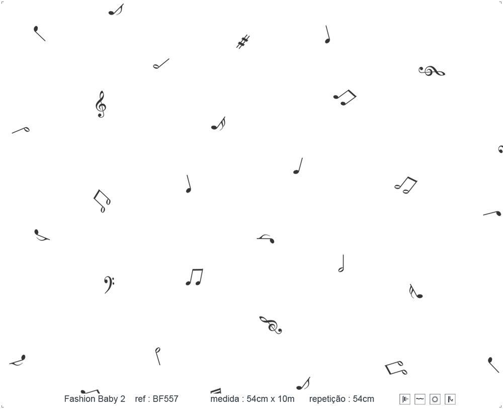 Papel de Parede - Nota Musical