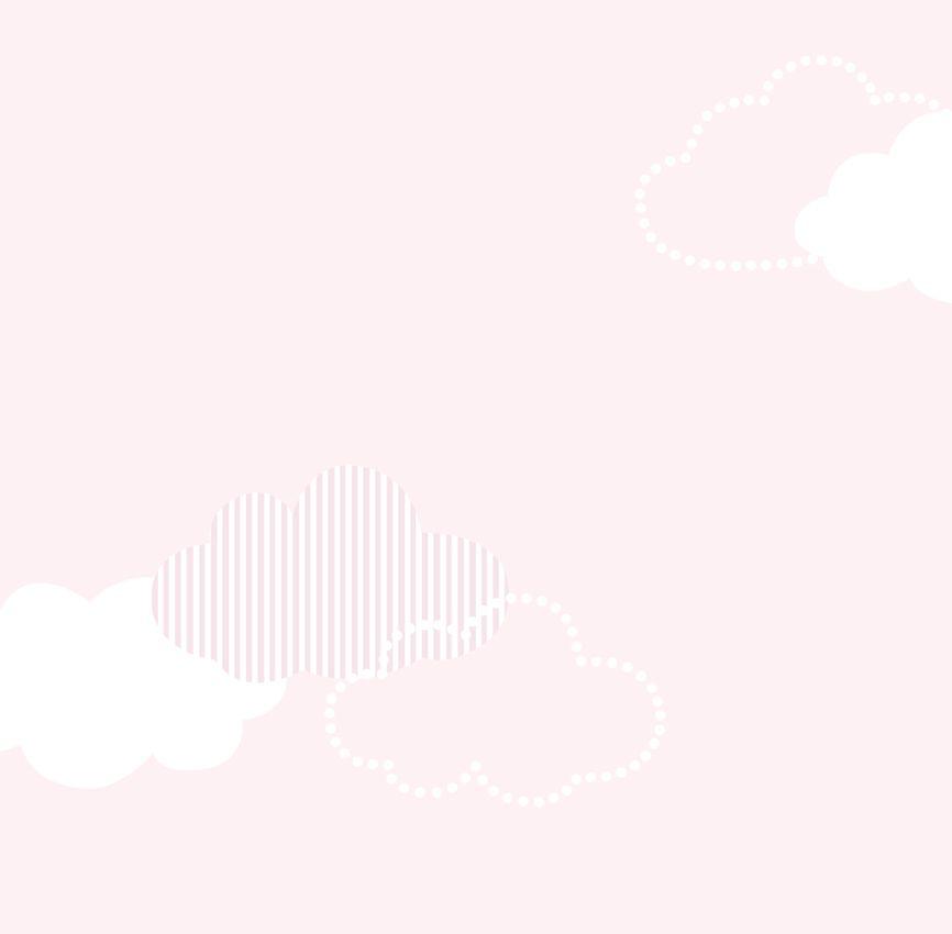 Papel de Parede - Nuvem Patchwork Rosa