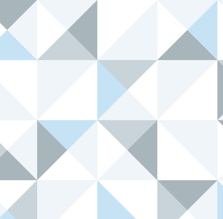 Papel de Parede - Quadrado Azul