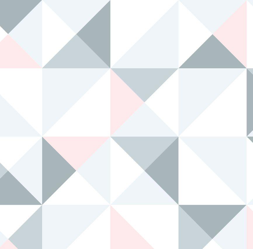Papel de Parede - Quadrado Rosa
