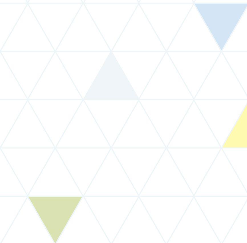Papel de Parede - Triângulo Azul