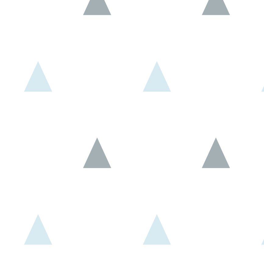 Papel de Parede - Triângulo Pequeno Azul