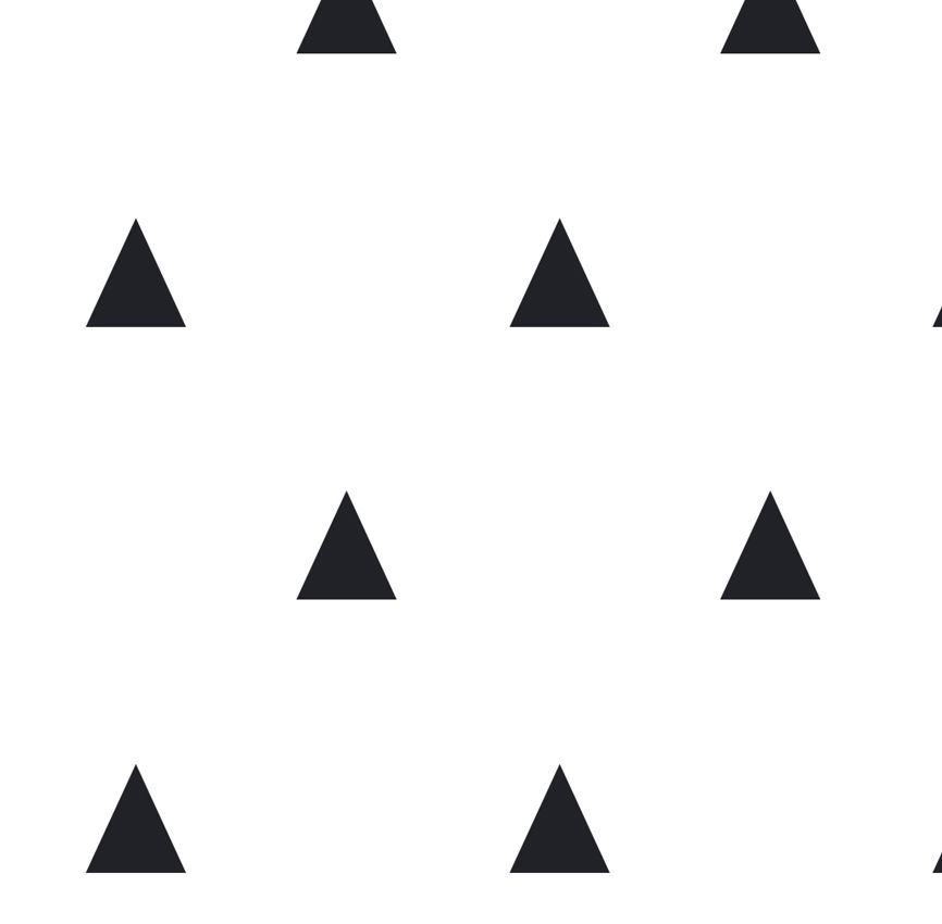 Papel de Parede - Triângulo Pequeno Preto