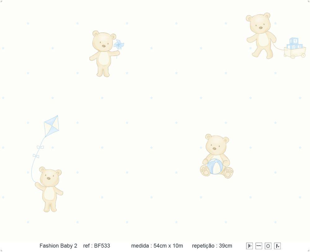 Papel de Parede - Urso