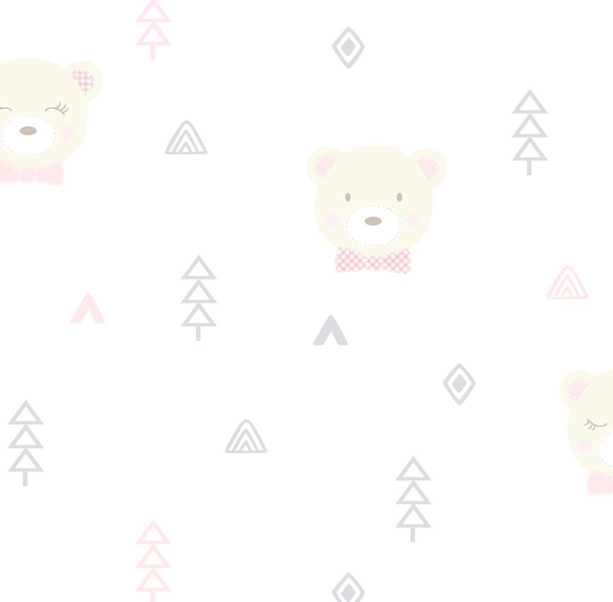 Papel de Parede - Urso Menina