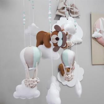 Pingente de Teto Urso Balão - Personalizado