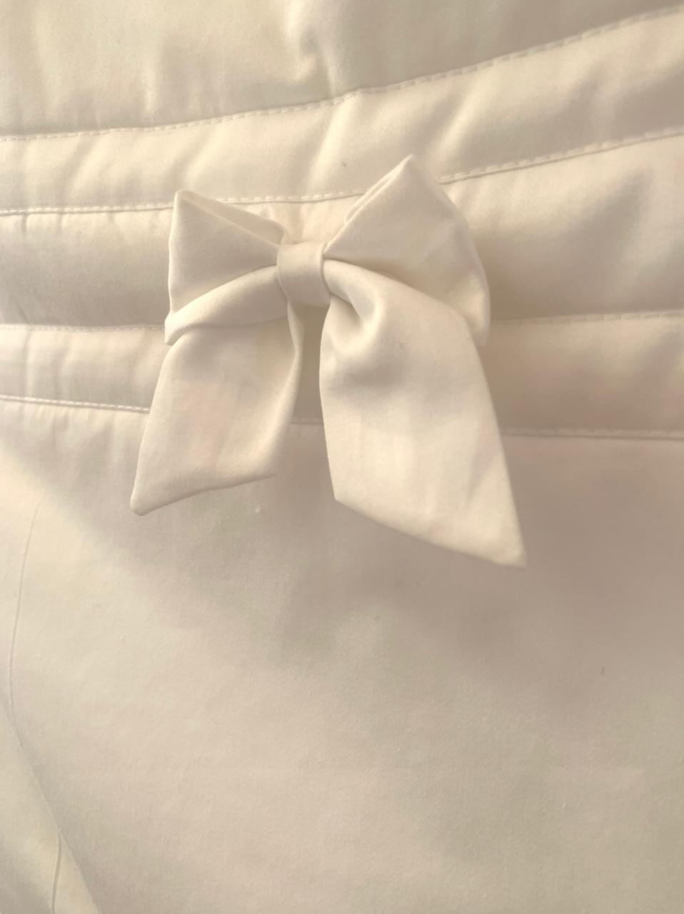 Porta Fraldas Unitário - Percal com rosa claro