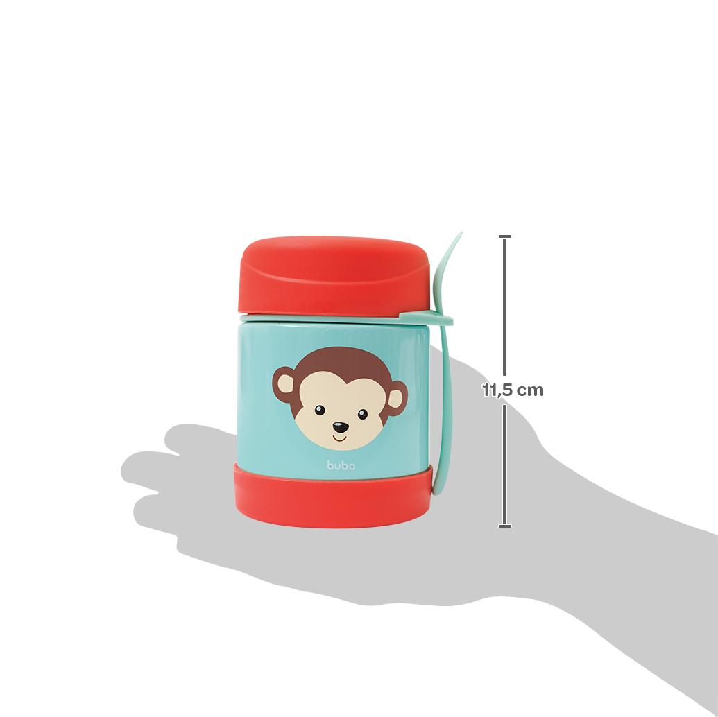 Pote Térmico Animal Fun - Macaco