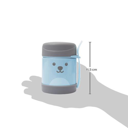 Pote Térmico c/ Colher - Gumy Azul