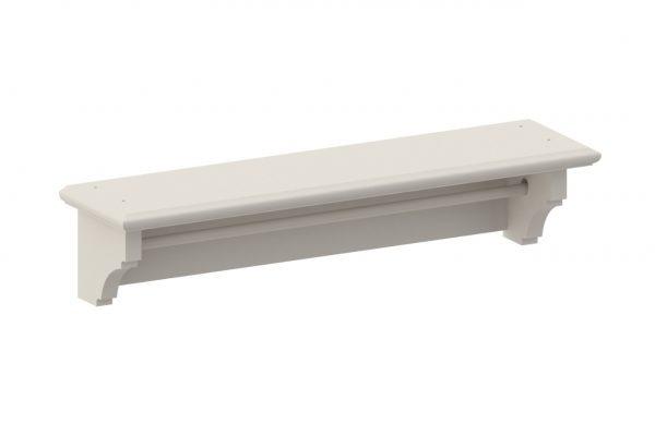 Prateleira Link Classic 90 cm - Branco Fosco