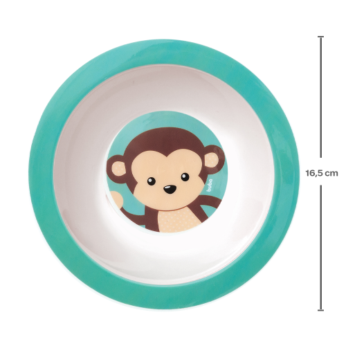 Pratinho Bowl Animal Fun - Macaco