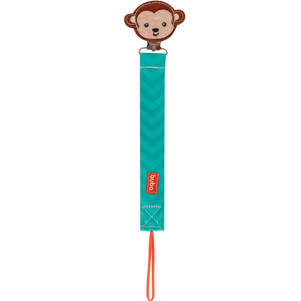 Prendedor de Chupeta Animal Fun - Macaco