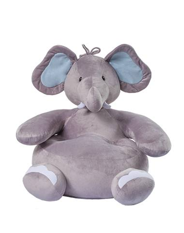 Puff Elefante - Azul