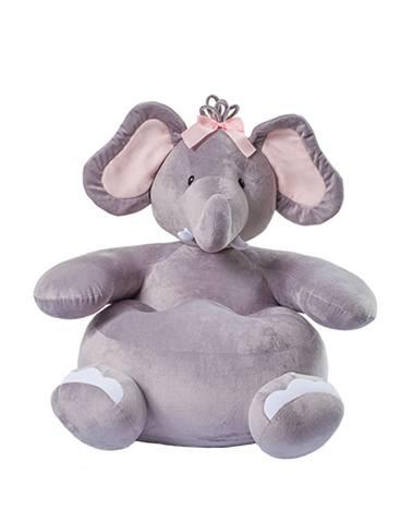 Puff Elefante - Rosa