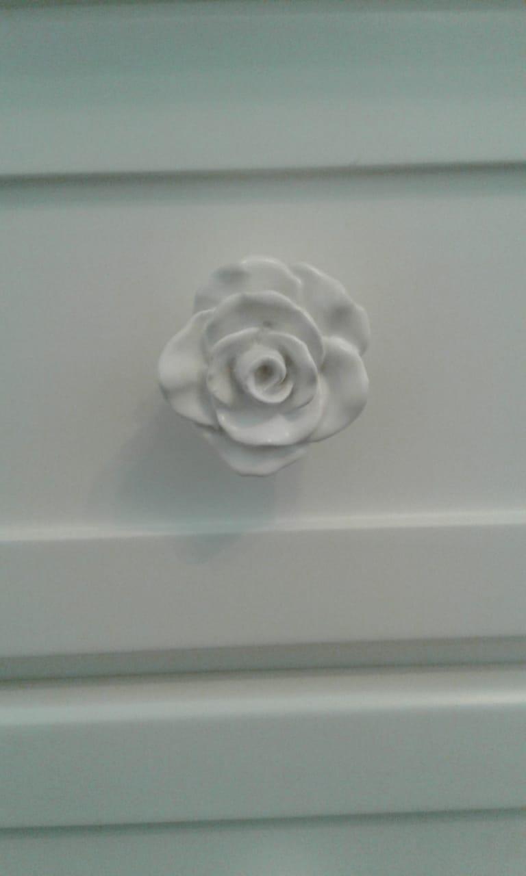 Puxador de Resina Flor