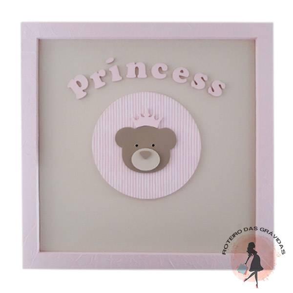 Quadro Ursa princesa