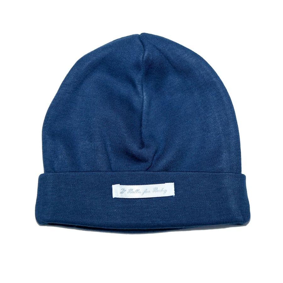 Touca de Suedine - Azul Marinho