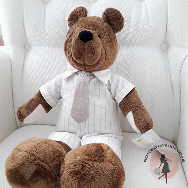Urso chocolate