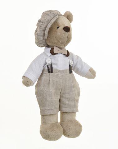 Urso de Pelúcia Bob Antic Caramelo