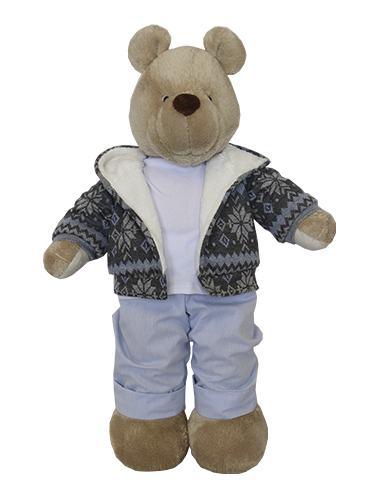 Urso de Pelúcia Bob Flake Capuz
