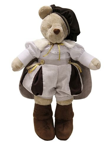 Urso de Pelúcia Bob Príncipe - Linho