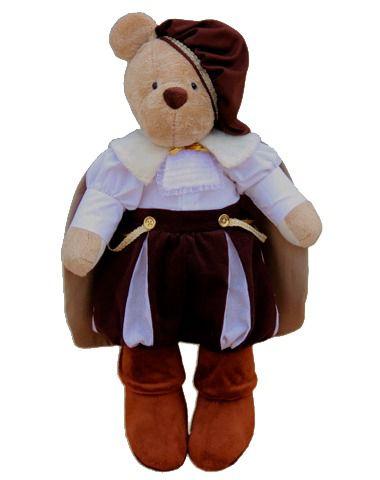 Urso de Pelúcia Bob Príncipe - Marrom