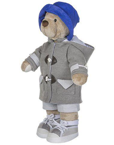 Urso de Pelúcia Bob Star - Cinza
