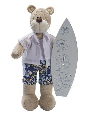 Urso de Pelúcia Bochecha Surfista