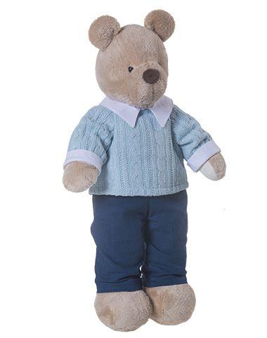 Urso de Pelúcia Bob Gummy - Azul