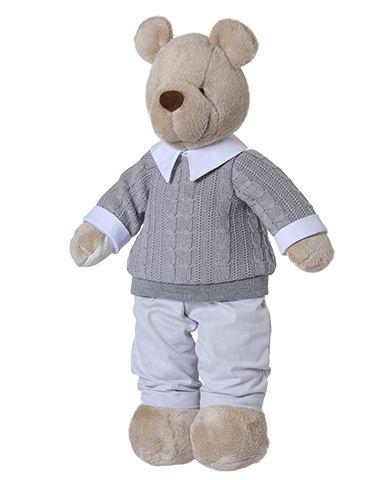 Urso de Pelúcio Bob Gummy - Cinza
